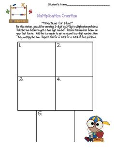 The Creative Apple: math games to use during guided math