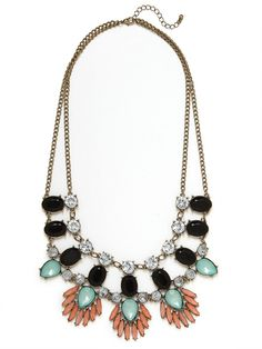 Onyx Phoenix Necklace- only $34