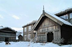 Old farmhouses restored in a modern and authentic way