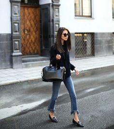 Loving Fringe Jeans