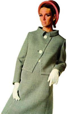Alberto Fabiani dress and jacket from Vogue Pattern Book, Autumn 1966