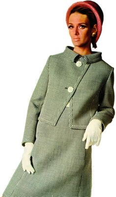 Alberto Fabiani dress and jacket from Vogue Pattern Book, Autumn 1966