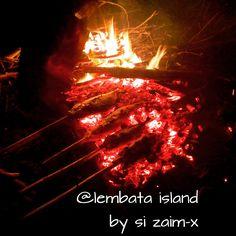 burning fish @lembata island