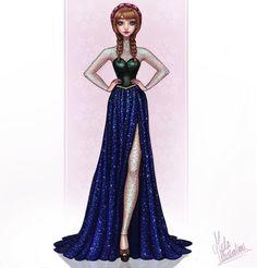 Anna by Mida Illustrations