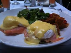 #Salmon benedict from Arte Cafe