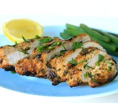 Lemon and Herb Chicken (Gluten-Free, Dairy-Free) Herb Chicken Recipes, Lemon Herb Chicken, Easy Chicken Dinner Recipes, Garlic Chicken, Healthy Gluten Free Recipes, Sugar Free Recipes, Gf Recipes, Whole30, Poultry