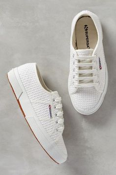 Superga Crochet Sneakers - anthropologie.com #anthrofave