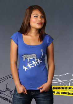Fußgängerstreifen T-Shirt   Design by Alessa, Venedig $19.95