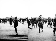 Rally Point - Marine Corps Homecoming Photography #homecoming #marines #coming home #military #military homecoming