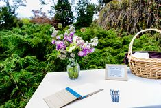 Wedding signing table - Bartlett Pair Photography
