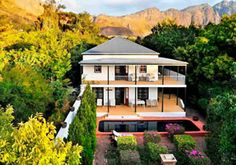 Boutique Hotel - Akademie Guest House & Boutique Hotel.  This six roomed luxury #Franschhoek guest house and boutique hotel offers five star guest house and small boutique hotel accommodation in five unique buildings with four pools.