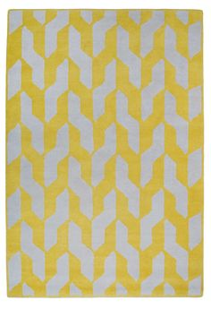 Cable Yellow by The Rug Company | Wool Contemporary hand-knotted designer rugs