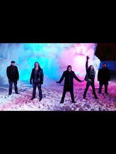 "Home Free - a still from their music video ""Do You Hear What I Hear"""