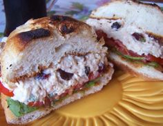 Cranberry Tuna Salad. They make this at Whole Foods and its soo good!