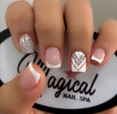Elegant Touch Nails, Classy Nails, Stylish Nails, French Manicure Nail Designs, Cute Acrylic Nail Designs, Nail Manicure, Orchid Nails, Pink Ombre Nails, Acrylic Nail Tips