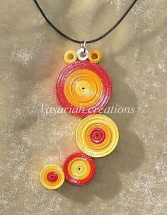 Quilling pendant 2 by OmbryB on deviantART