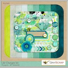 Life Changes kit by Giny Scrap : Scrap Art Studio, Where Creativity Soars