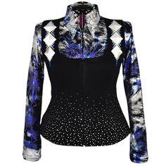 Royal Blue Heavy Metal Vest Set