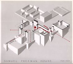 """Samuel Freeman House (1923-1924) 