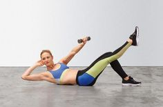 5 moves to transform your abs and arms in 5 minutes a day