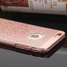 Rhinestone Bling case cover iPhone 6/6s New Classic Transparent Rhinestone Diamond Soft TPU Bling Case Cover For iPhone. Color is rose gold 6/6s Package included: 1 X Metallic + Plastic Case Cover 1 x Front Screen Protector 1 x Microfiber Cloth 1 x Application Card Accessories Phone Cases