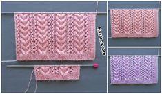 KADIN ÖRGÜLERİNE GÖNÜL BURGULARI DESENİ | Nazarca.com Knitting Designs, Pizza, Walking Sticks, Tejidos, Knitting Projects