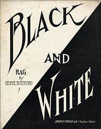 Black And White Rag 1908 | The House of Beccaria