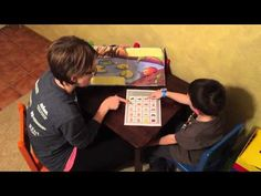 Using an Aided Language Board to Help Non-Verbal Students Tell a Story - YouTube