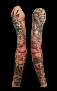 Discover recipes, home ideas, style inspiration and other ideas to try. Soccer Tattoos, New Tattoos, Small Tattoos, Tattoos For Guys, Liverpool Tattoo, Fc Liverpool, Lfc Tattoo, Lfc Wallpaper, Full Sleeve Tattoos