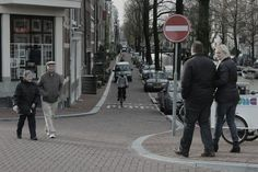 A M S T R D M N #amsterdam #street #bycicle #car #selfmade