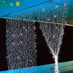 Купить товар3 М х 3 М 300 LED Открытый Партия Рождество рождество Строка…