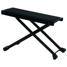 Gearlux Adjustable Guitar Foot Stool for Classical Guitar Playing- Black $11.99 (save $11.00) + Free Shipping