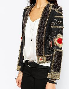 Image 3 ofA Star Is Born Allover Luxe Embellished Trophy Jacket