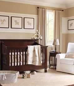 neutral nursery Only nursery ideas I like for a girl. Not huge into all the pink... Better be a BOY!!!