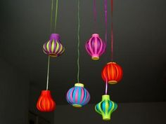 DIY - Un lampion en papier New Year's Crafts, Holiday Crafts For Kids, Creative Crafts, Diy For Kids, Fun Crafts, Diy And Crafts, Paper Crafts, Ramadan Crafts, Diwali Craft