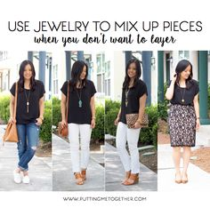 How to Remix Pieces Without Layering In the Summer
