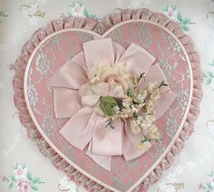 Romantic Vintage Valentine Candy Box by such pretty things, via Flickr