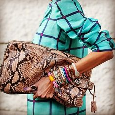 Absolutely love this oversized clutch!