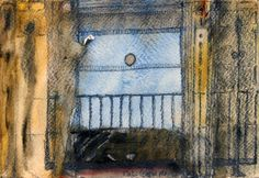 Lecture - 12 x 18 cm, Aquarelle et crayon sur papier