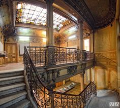 Casa Macca Stair Elevator, Bucharest, Timeline Photos, Romania, Architecture Design, Stairs, Cityscapes, Country, Ghosts