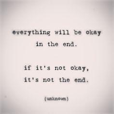 #everything #notokay #theend