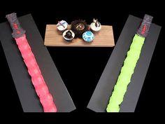 My Cupcake Addiction: STAR WARS CAKE w/ Cupcakes & Cardio - How to make a Lightsaber Pullapart Cupcake Cake