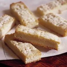 Scotch Shortbread (granulated and powdered sugar)