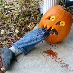 thisoldhouse.com | from 40 Best Pumpkin Carvings of Monsters and Villains