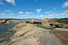 Rock Summer House in Vestfold, Norway by Jarmund/Vigsnæs Architects