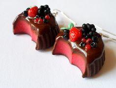 Czekoladowe praliny z owocami w vivi4n na DaWanda.com