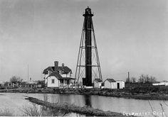 New Jersey Lighthouse Society - Deepwater Range Lights - Deepwater, NJ