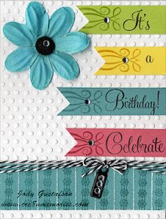Great ideas for paper scraps. on your homemade cards.  Thanks Jody.  http://dianeclark.ctmh.com/