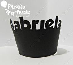 Wrappers/saia Para Cupcakes Personalizados - R$ 25,00 no MercadoLivre