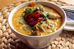 Tom kha tofu (Sopa tailandesa de coco y tofu) | Nahual Recetas, Delicias Culinarias